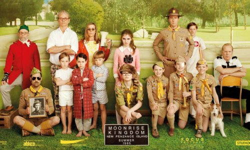 Moonrise Kingdom - All families together